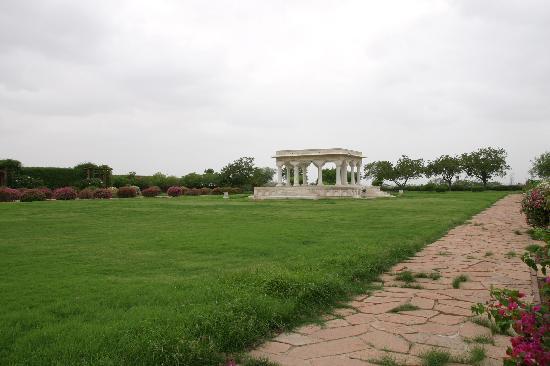 Umaid Bhawan Palace Jodhpur: Gardens view