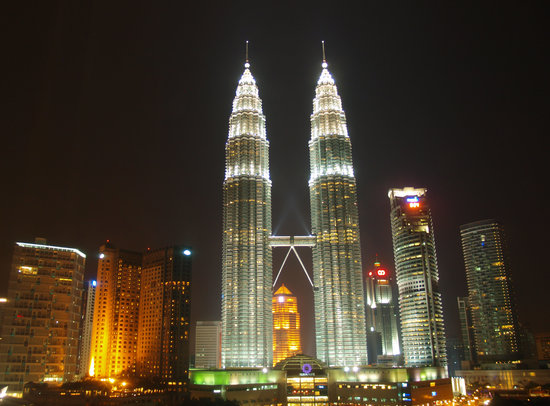 Kuala Lumpur Convention Centre: view from Traders Hotel, KL