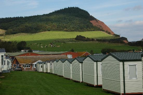 Otterton, UK: Ladram Bay caravan site