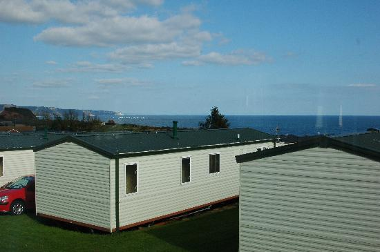 Ladram Bay Holiday Park: View from caravan