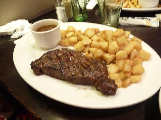 Tony Romas Ribs Seafood Steak: Steak