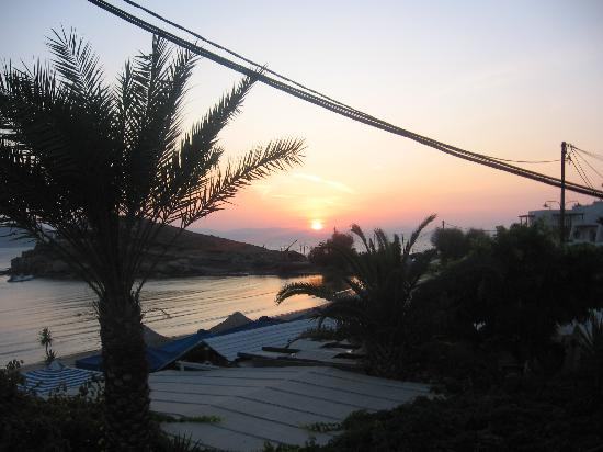 Saint George Hotel: coucher de soleil du balcon