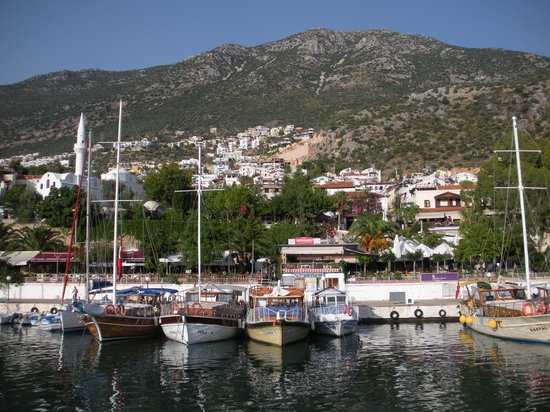 ‪‪Kalkan‬, تركيا: Kalkan from the water!‬