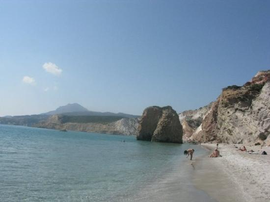 Milos, Greece: Firaplaka