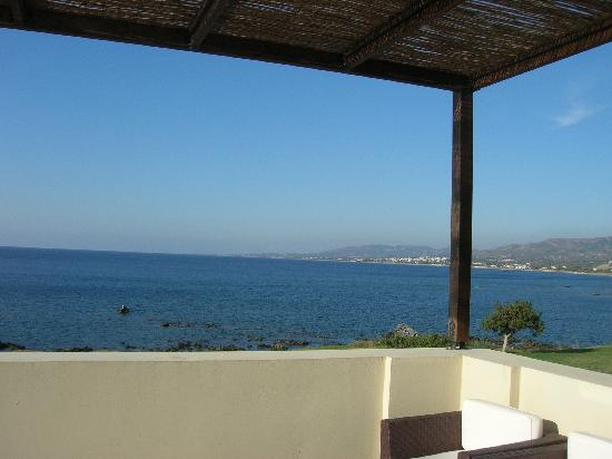Al Mare Villas : view from the terrace