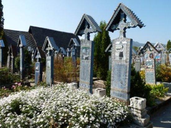 Sapanta, Rumania: Merry Cemetery