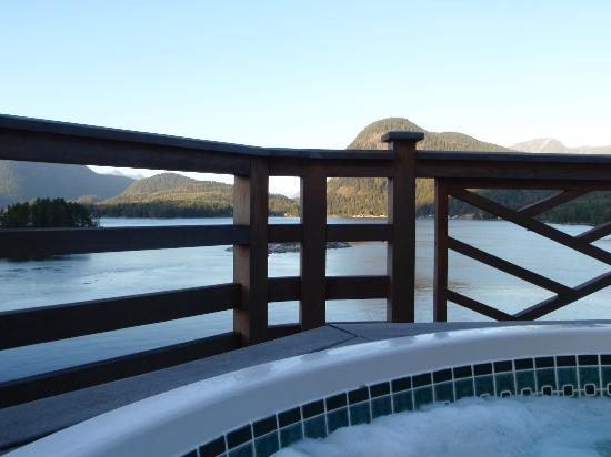Sonora Resort : View from one of the jacuzzis