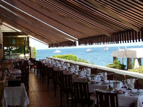 Hotel Royal-Riviera : Frühstücks- und Restaurant-Terrasse