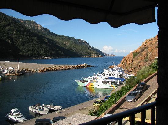 Hotel La Calypso : view from balcony