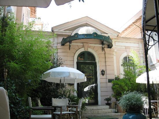 Hotel Le Vendome Villa Claudia: L'entrée