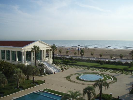 Hotel Las Arenas Balneario Resort: Hotel Las Arenas.  View from my room.