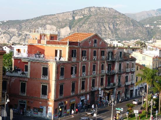 Grand Hotel Parco Del Sole: Vu de notre chambre de l'hotel