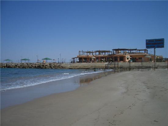 Porto Sokhna Beach Resort: view from the beach