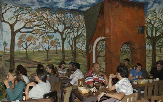 Rainbow Cafe: The back room