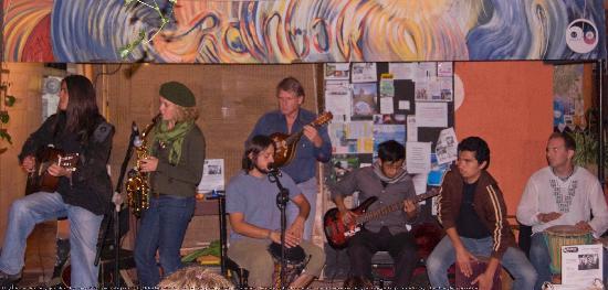 Rainbow Cafe: Open mic night