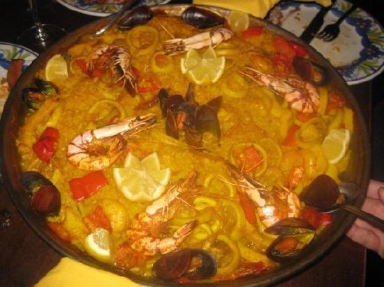 La Tasca Leeds: Paella on the Tuesday