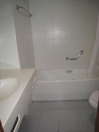 Hotel Lodomar Spa & Talasoterapia: Bathroom in apartment