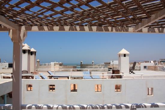 Riad Watier: La terrasse