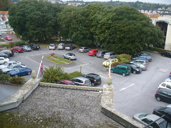 The Redcliffe Hotel: View overlooking the car park