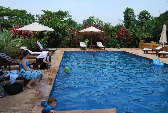 Emin Pasha Hotel: Very nice pool area