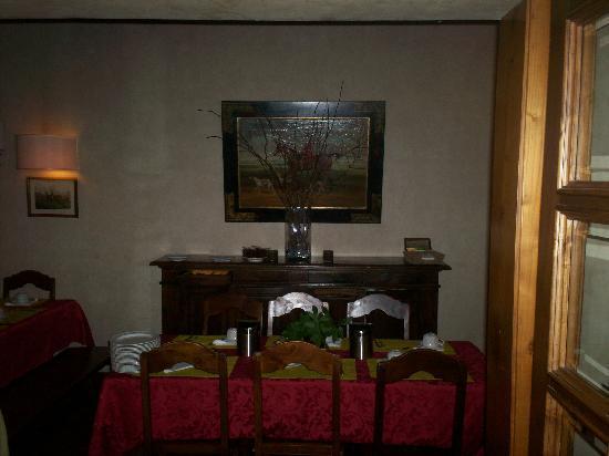 Hotel Mario's : Dining Room