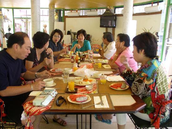 Huarn Jana Boutique Resort: Breakfast is always great here!
