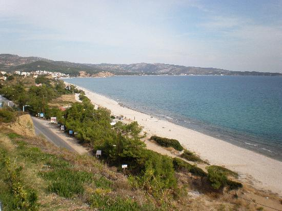 Blue View Hotel: nearby beach at limenaria.