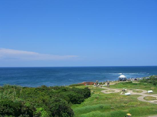 Tsunoshima Lighthouse Park: 灯台公園から