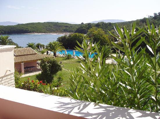 Bella Mare Hotel: The view from the balcony of Studio 205