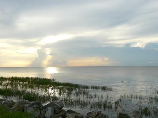 Lake Okeechobee Outpost: Lake O before sunset