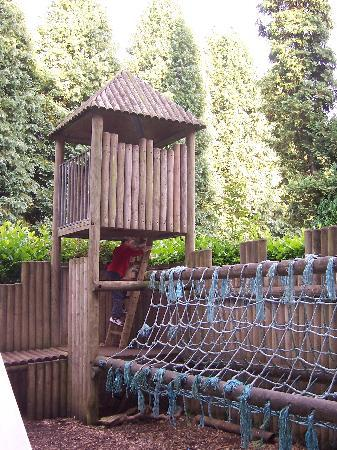 Redworth Hall Hotel: Part of the outdoor play area