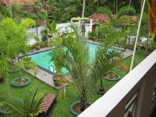 SANKAREST Villa: The view from the balcony