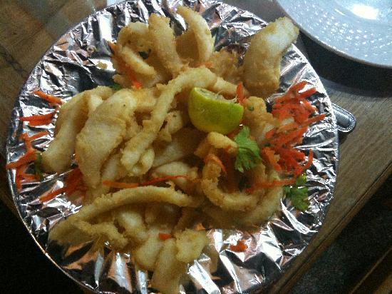 sinai star: Calamari fritti