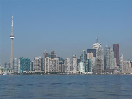Toronto, Canada: view of city