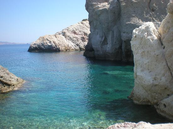 Milos, Greece: firopotamos