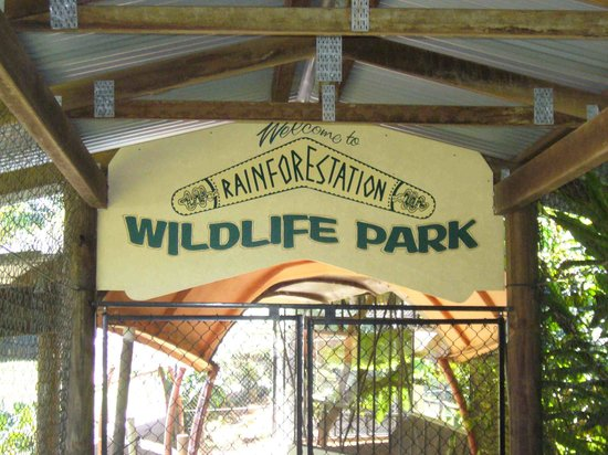 Rainforestation Nature Park: ワイルドライフパークへの入り口