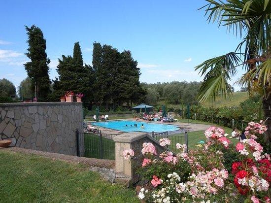 Tuscania, Ιταλία: Piscina
