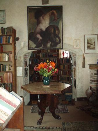 Sissinghurst, UK: Vita's inner sanctum in the tower