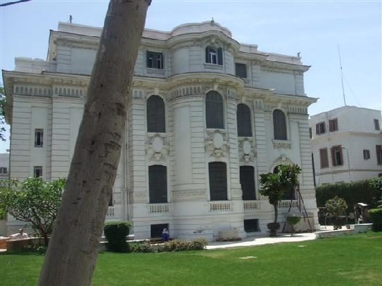 Alexandria National Museum: Garden and rear of museum