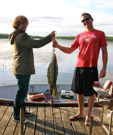 Big Timber Lodge: A Great Day Fishing!