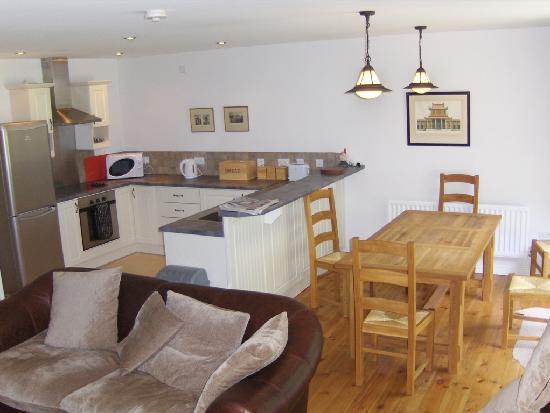 Castle Leslie Estate: Kitchen area