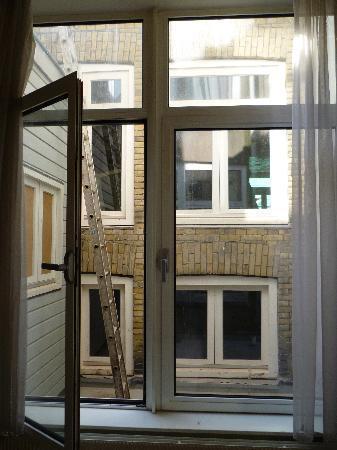 """Hotel De Gerstekorrel: Our """"view""""."""