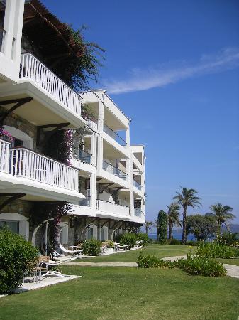 Hotel Baia Bodrum: Bloc vue mer