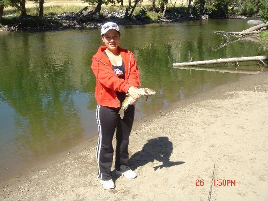 Echo Basin Cabin and RV Resort: Fishing is Great!