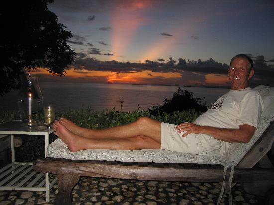 Lance Conrad Jamaican sunset @ the Hermitage