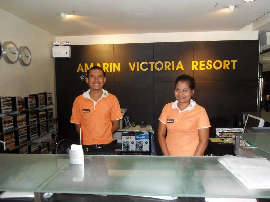 Amarin Samui Hotel: Lovely staff at the Amarin