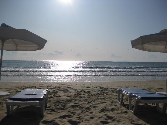 Yavor Palace: nice beach, lovely sand