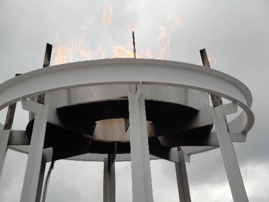 Olympic Training Center: The Olympic Flame