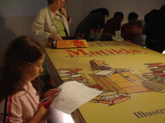The Roald Dahl Museum and Story Centre: crafting