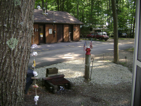 Tidewater Campground: Awesome campsite